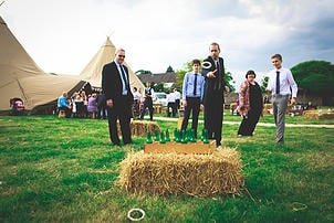 Gemma and Alex Sami Tipi wedding games image