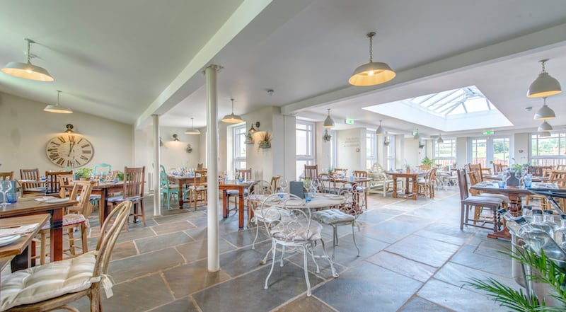 Sami Tipi venue kedleston country hotel orangery wide