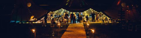 Tipi event venues in Derbyshire header image