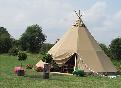 Sami Tipi corporate tipi events