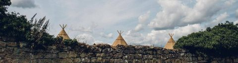 Tipi event venues in Leicestershire header image