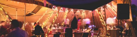 Tipi event venues in Staffordshire header image