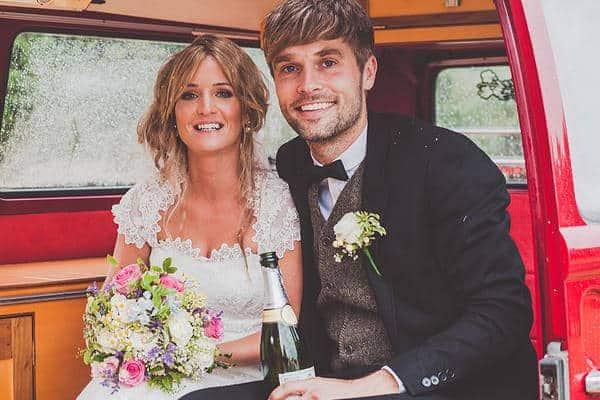 Emma & Glenn Tipi Wedding image 2