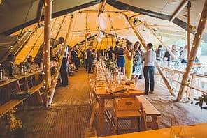 Emma & Glenn Tipi Wedding image 3