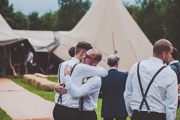 Emma & Glenn Tipi Wedding image 4
