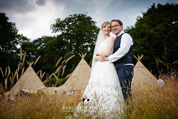 Julia & David Sami Tipi Wedding image 1