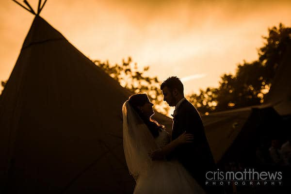 Lucy and Johnny's Tipi Wedding