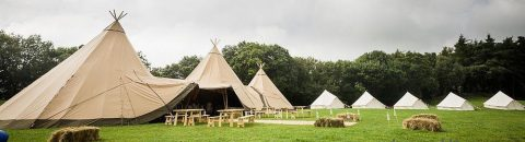 Lucy and Johnny Sami Tipi wedding header image
