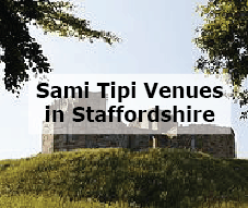 Sami Tipi Event venues in Staffordshire
