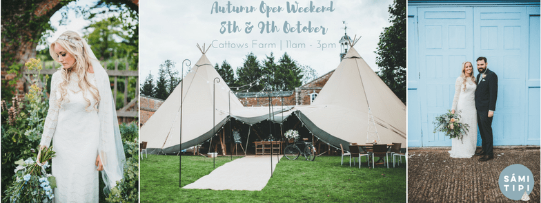 Sami Tipi Autumn Open Weekend 8th & 9th October 2016