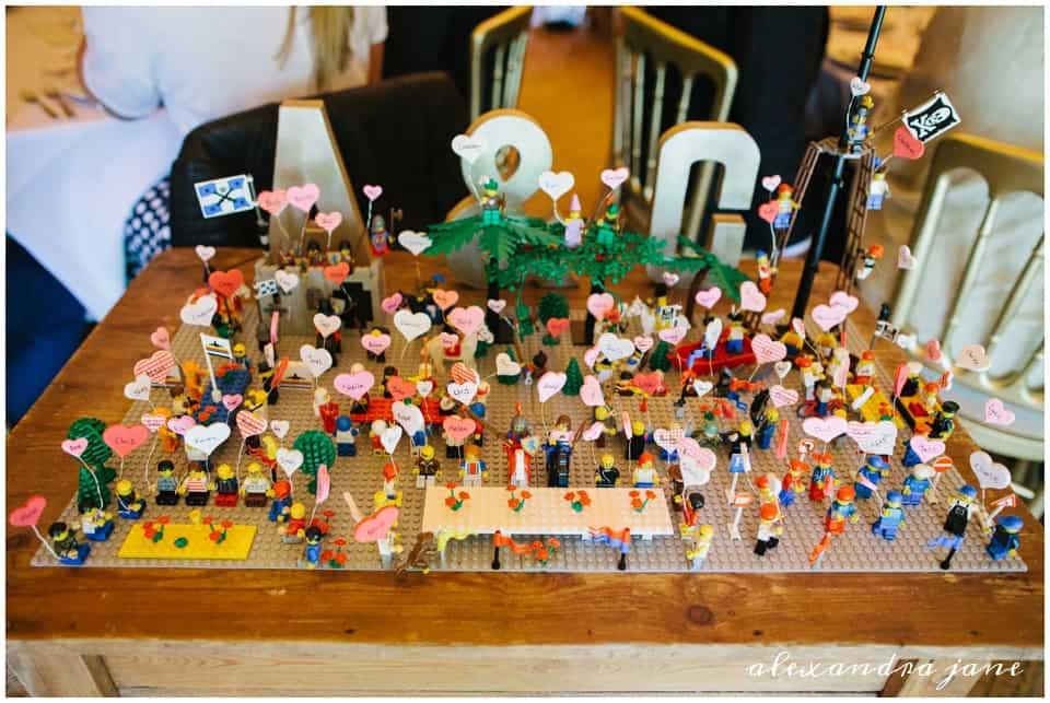 Lego Seating Plan - Sami Tipi Wedding