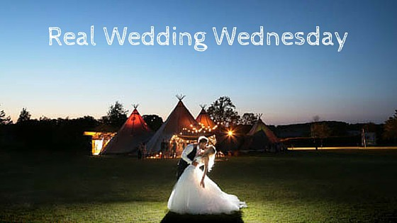 Real Wedding Wednesday - Donna & Kyen's Sami Tipi Wedding at Bawdon Lodge Farm