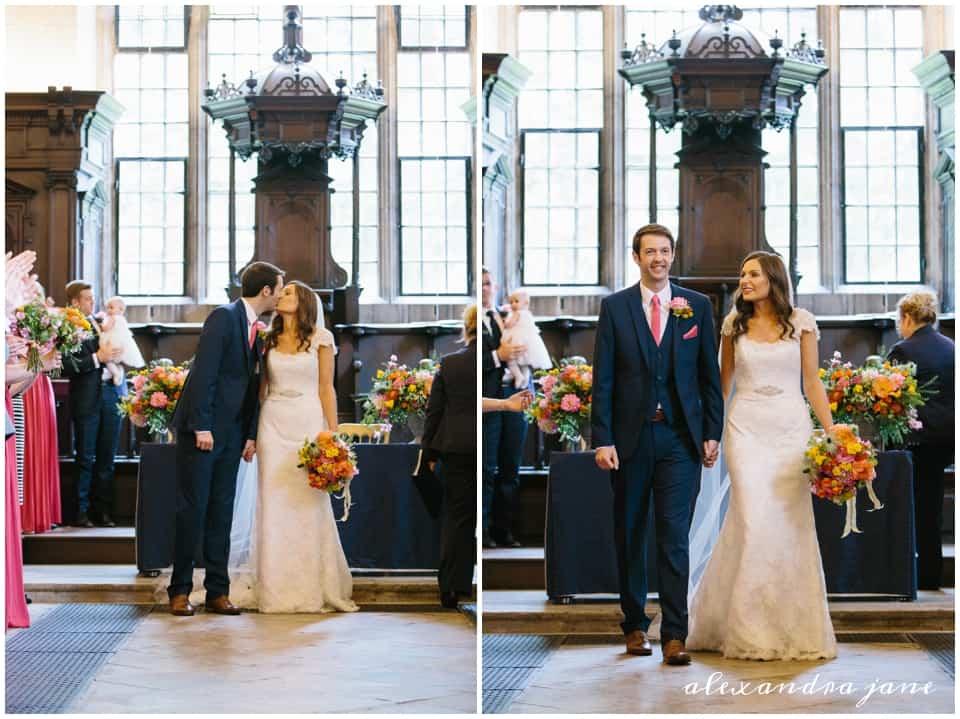 The Wedding at oxford libray