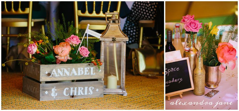 Styling touches - sami tipi wedding