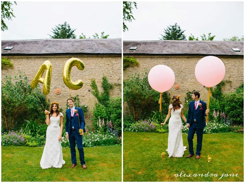 Giant Balloons Sami Tipi Wedding