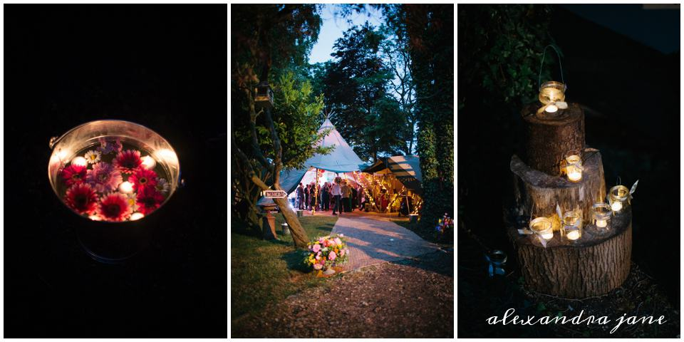 Sami Tipi Wedding by Night captured by Alexandra Jane