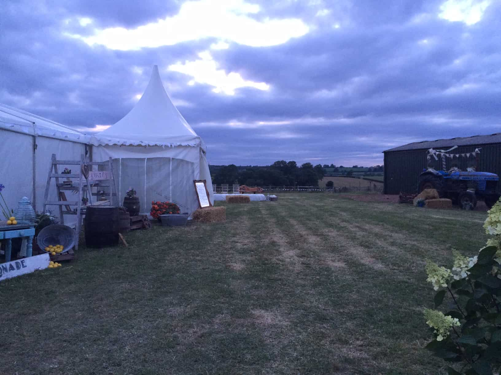 Barford Top Tipi Wedding Site 9