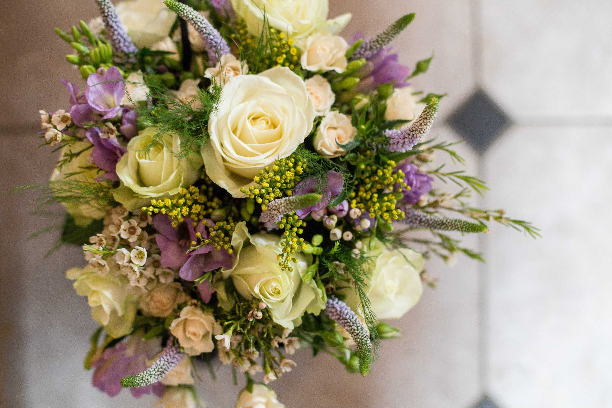 Mike and Siobhan Wedding Flowers