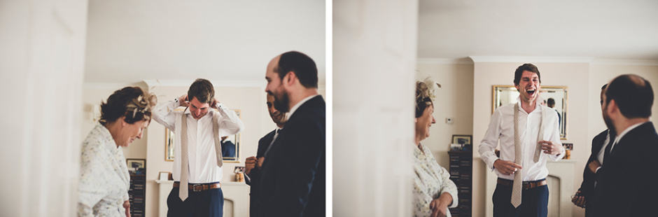 Sami Tipi Wedding Groom getting ready - captured by Amy Shore Photography