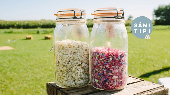 Natural Wedding Favours