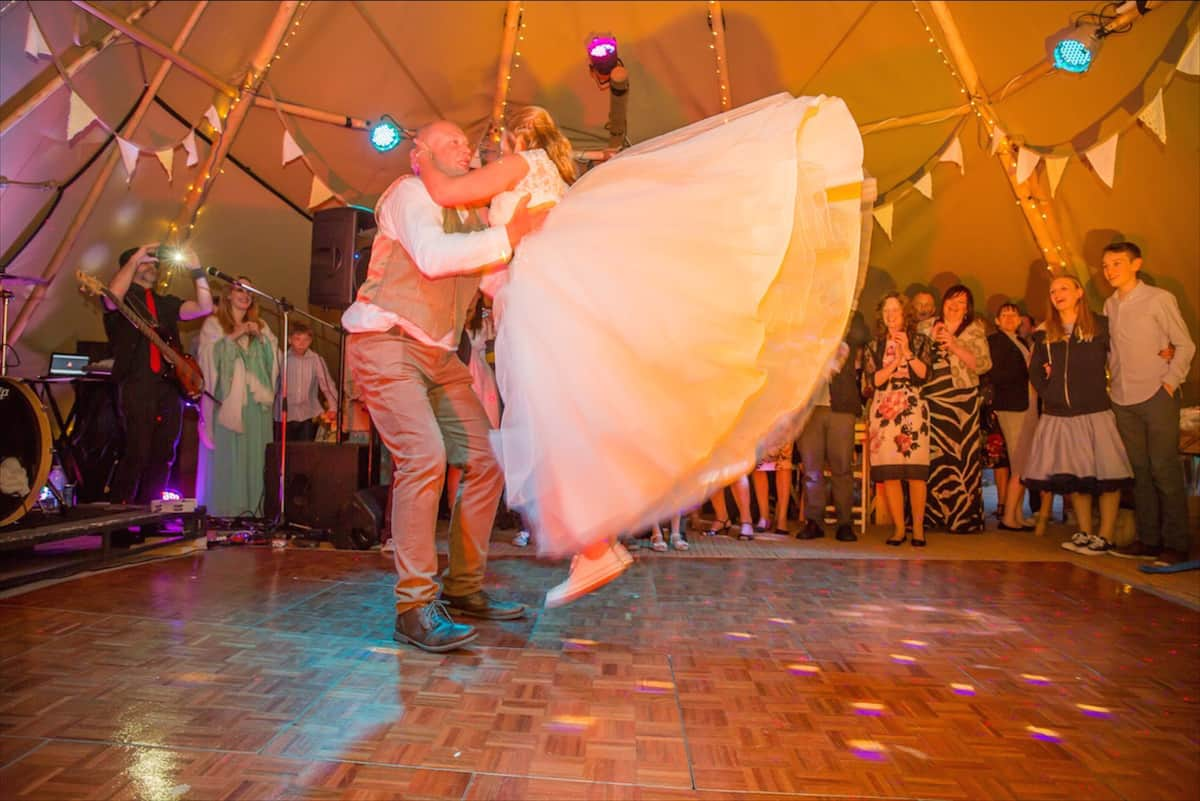 First Dance in the tipis