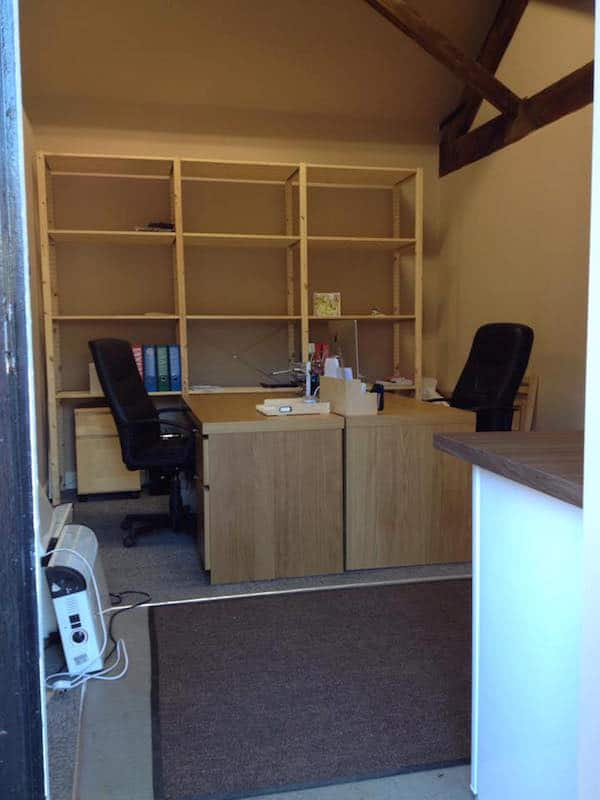 Sami Tipi moves in to office