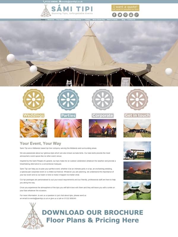 Sami Tipi website