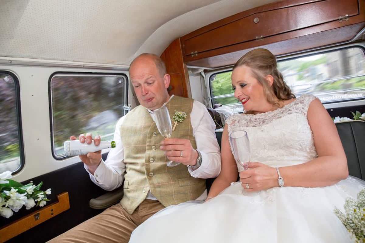 VW Camper van Wedding with Sami Tipi