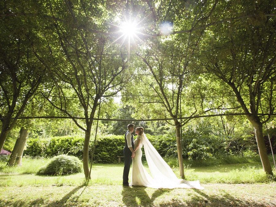 Bodenham Arboretum, Kidderminster Tipi Wedding Celebration, couple making the most of the outdoor space