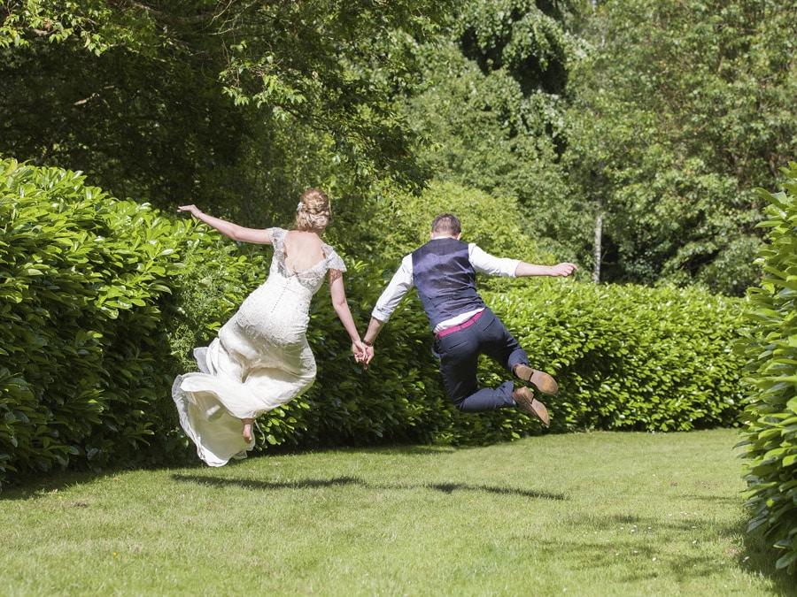 Bodenham Arboretum, Kidderminster Tipi Wedding Celebration, couple making the most of the outdoor area