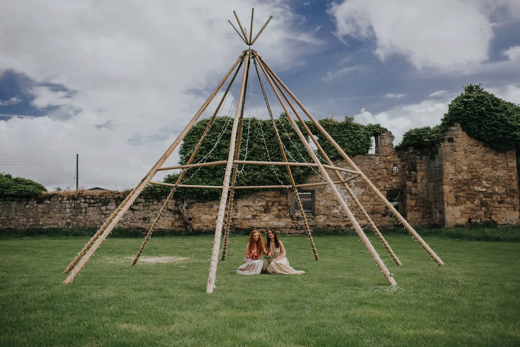 Sami Tipi Weddings. Big Top Tipis