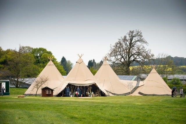 Sami Tipi Wedding at Bawdon Lodge Farm