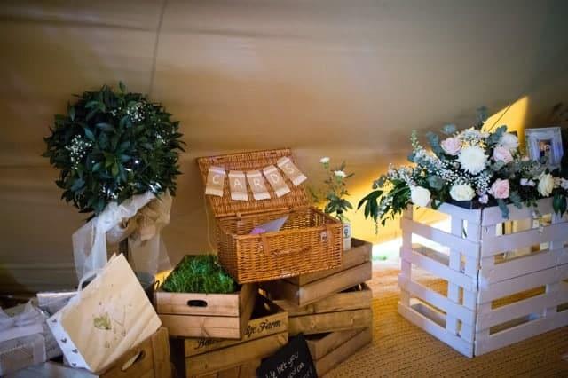 Sami Tipi Wedding at Bawdon Lodge Farm the detail