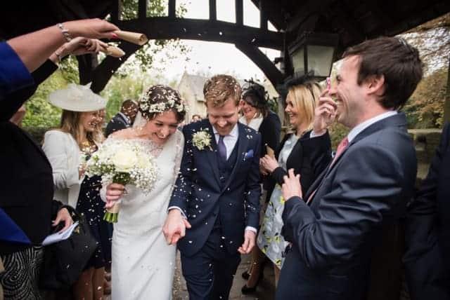 Sami Tipi wedding the confetti throw