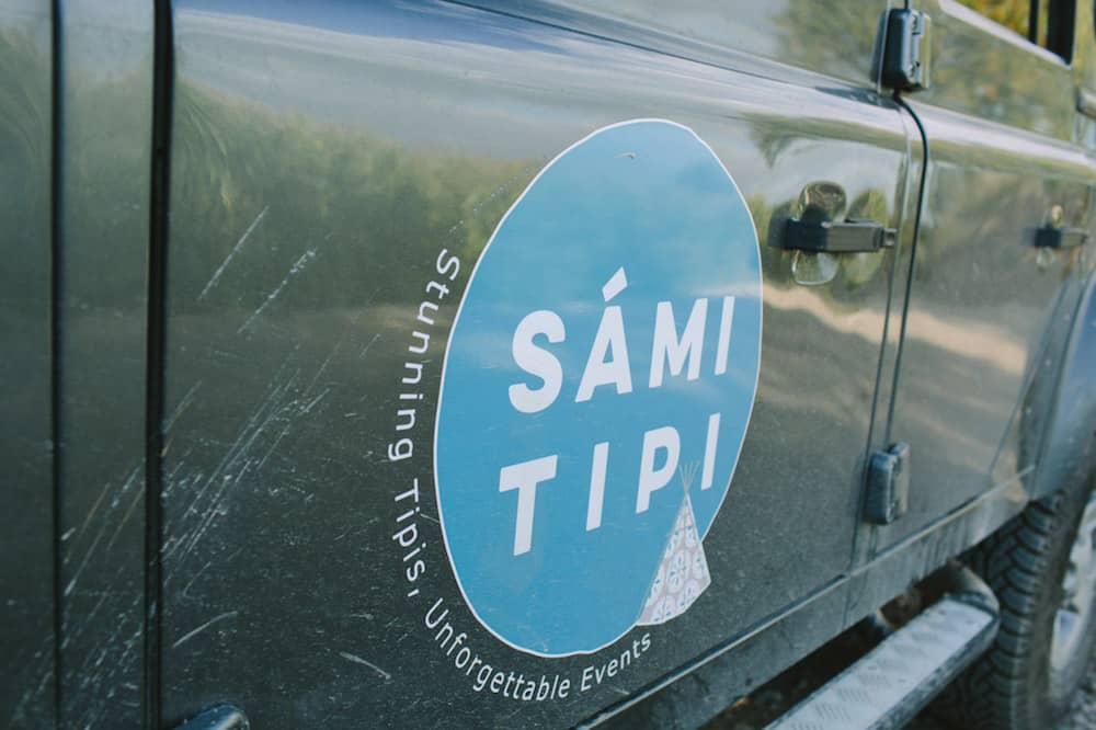 Sami Tipi Loves their Land Rover Defender