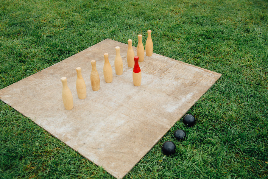 Outdoor Games Hire from Sami Tipi - Skittles