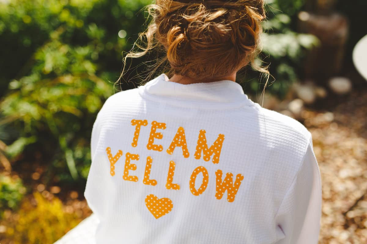 Team Yellow two brides - Sami Tipi Wedding Captured by Camera Hannah