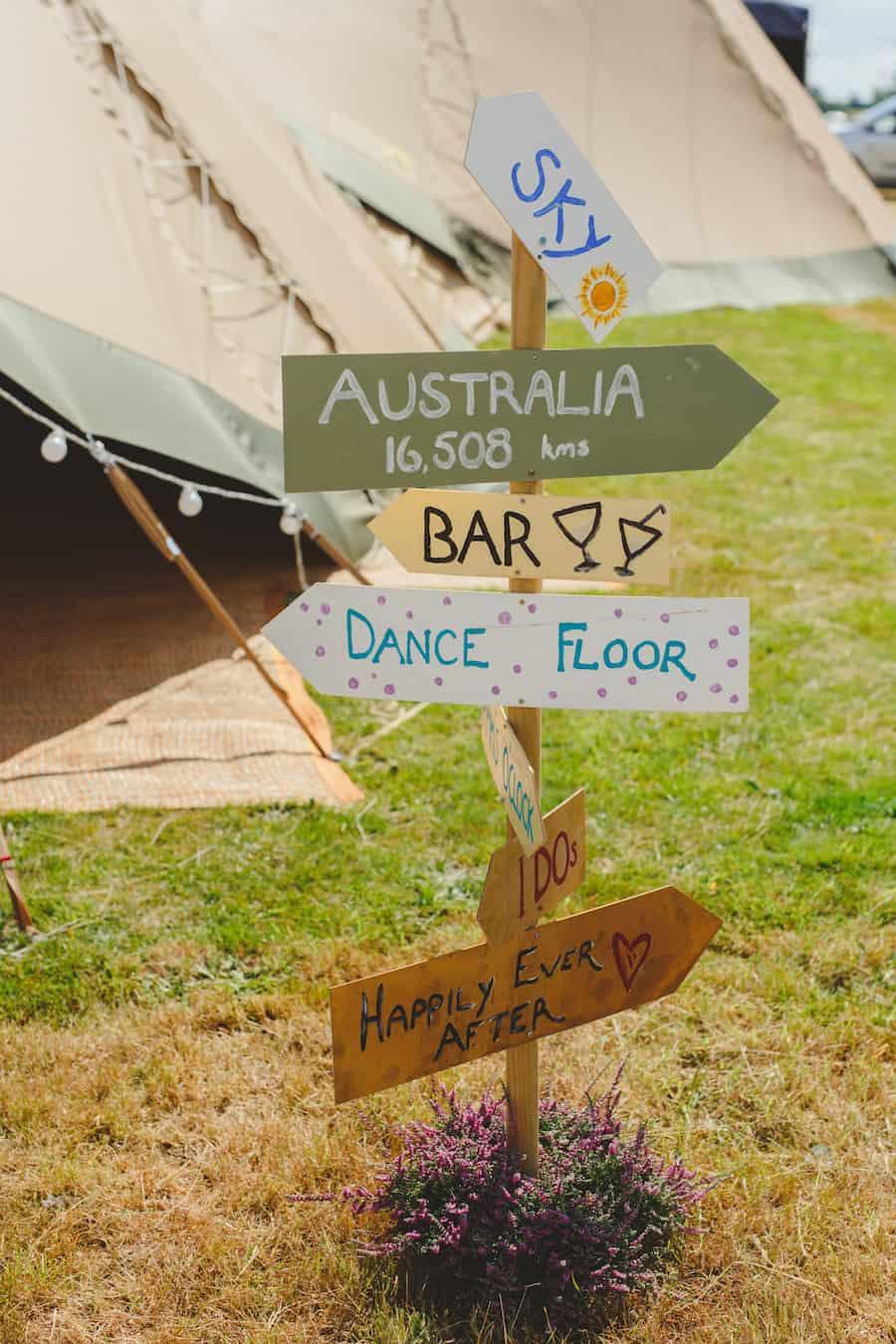 DIY Rustic Wedding Sign for gay wedding celebration | Gay wedding ideas
