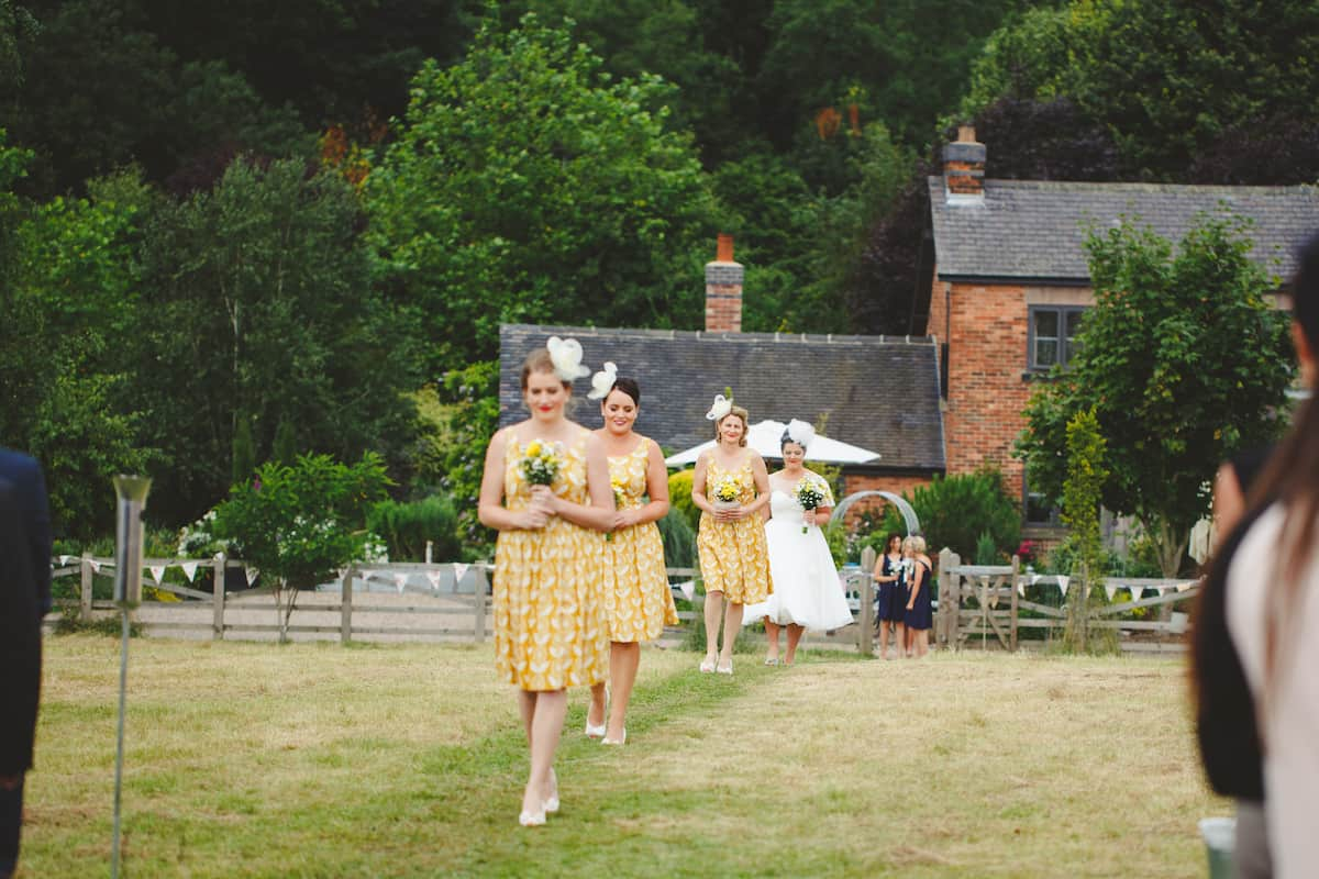 two brides team yellow - Sami Tipi Wedding Captured by Camera Hannah