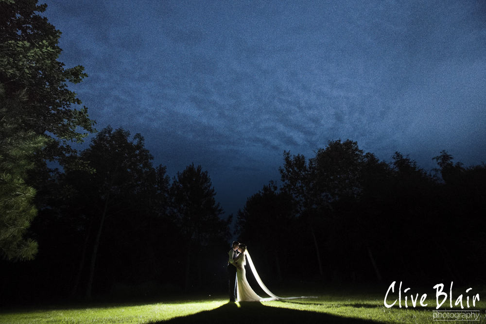 by night - Sami Tipi Wedding captured by Clive Blair