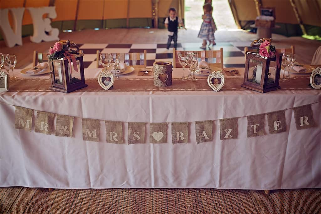 Rustic Mr and Mrs Bunting - Sami Tipi Wedding captured by Shoot it Momma