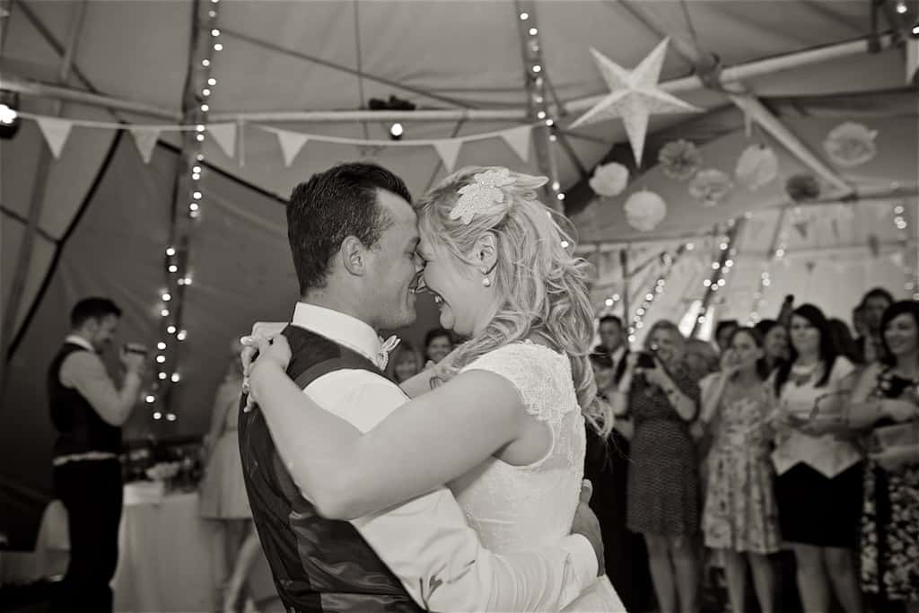 First Dance - Sami Tipi Wedding captured by Shoot it Momma