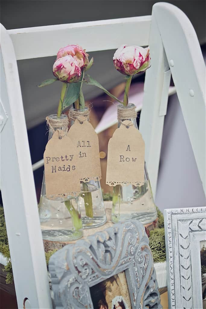 Pretty Maids all in a row - Sami Tipi Wedding captured by Shoot it Momma