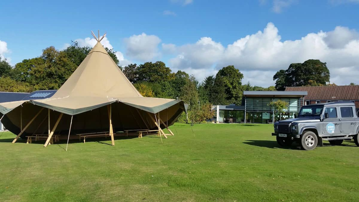 Sami Tipi helps tree tops hospice charity event -