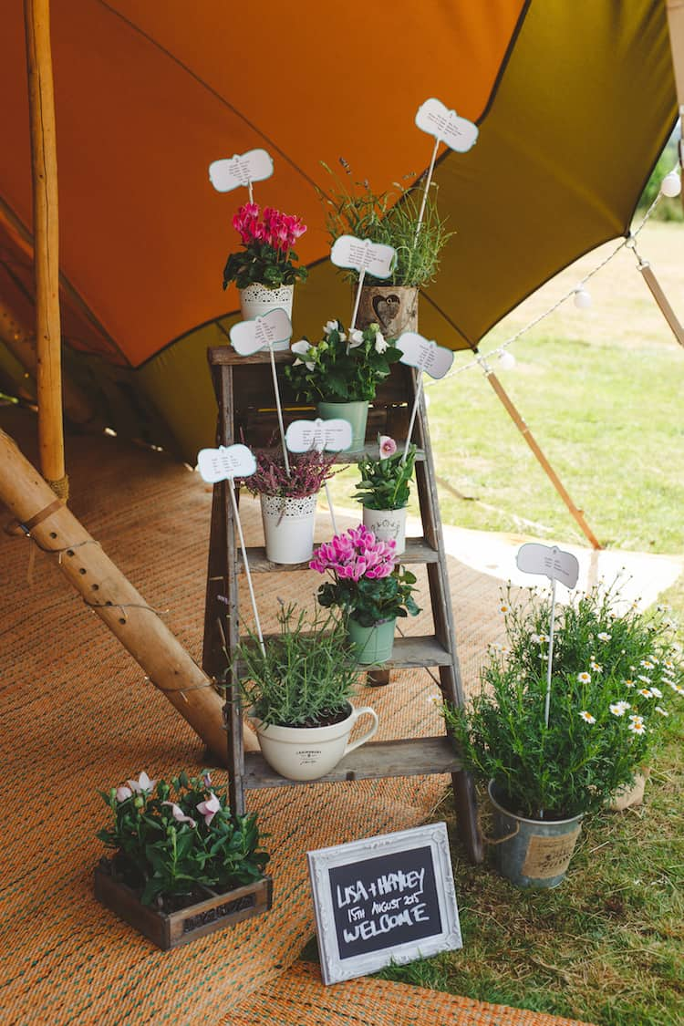 Small Rustic Ladders