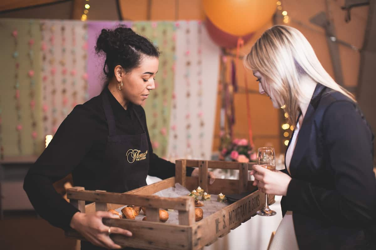 Relaxed Canapes - Sami Tipi Starlight Social captured by Christopher Terry