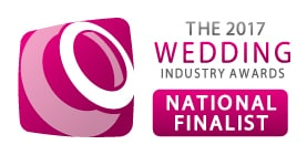 Sami Tipi National Finalist in the wedding industry awards