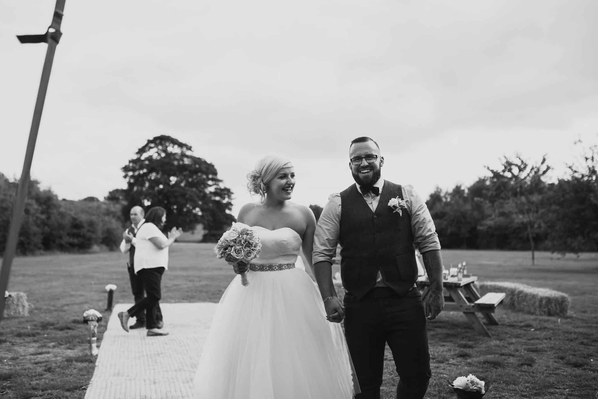 married - Sami Tipi Wedding at Bawdon Lodge Farm
