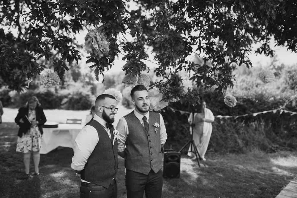 first look - Sami Tipi Wedding at Bawdon Lodge Farm