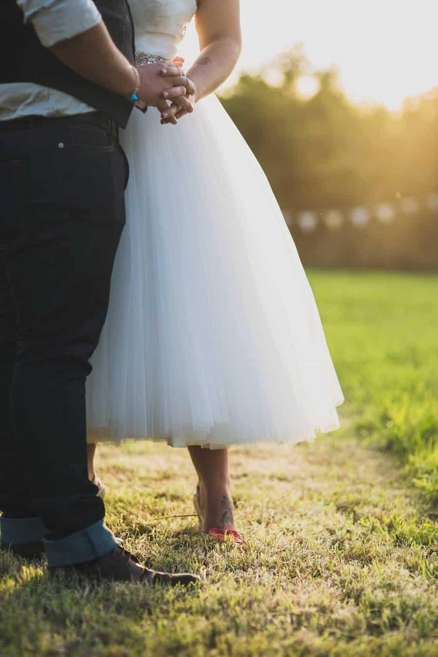 married - Sami Tipi Wedding at Bawdon Lodge Farm